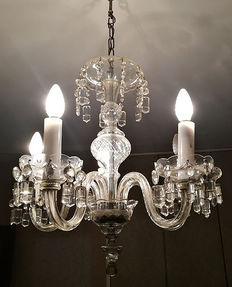 Murano glass chandelier from the early 20th century