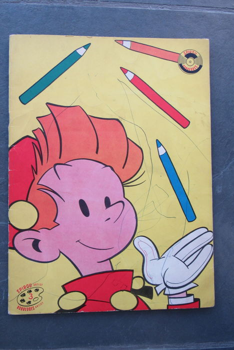 Spirou / Robbedoes Artist 3 - Colouring book - sc - 1st edition - ('60s)