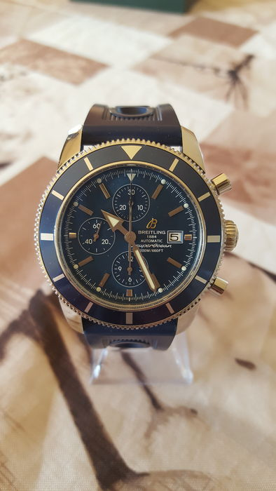 Breitling Superocean Heritage Chronograph A13320 – Men's Wristwatch – 2009.