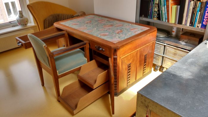Amsterdam School Desk With Matching Chair Catawiki