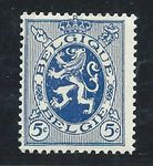 Check out our Belgium 1929 - Lion 5c BLUE instead of grey blue (colour of 50 cent) - COB 279 Er - with certificate