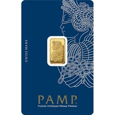 Pamp Suisse, NEW Fortuna, Gold Ingot - 2.5 g