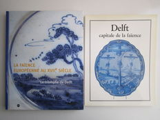 Faience; Lot with 2 books about Delftware - 1983 / 2003