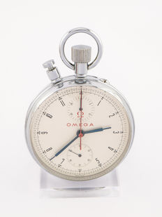 Omega 1964 Olympic pocket watch chronograph, Innsbruck Tokio 1960
