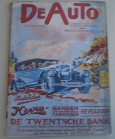 Magazines; De Auto - 34 issues – 1927/1940
