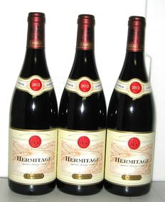 2012 Hermitage (Rouge), Domaine E. Guigal - lot 3 bouteilles