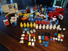 Assorti / Building Set with People - 22x Classic Space Minifigs + 212 - Scooter