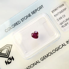 Ruby 0.68 ct