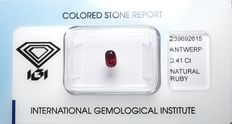 Ruby - 0.41 ct