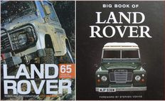 2 Books: Land Rover - 65 Years of Adventure & Big Book of Land Rover