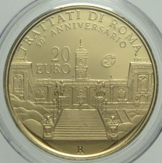 Italy, Republic – 20 Euro 2007 