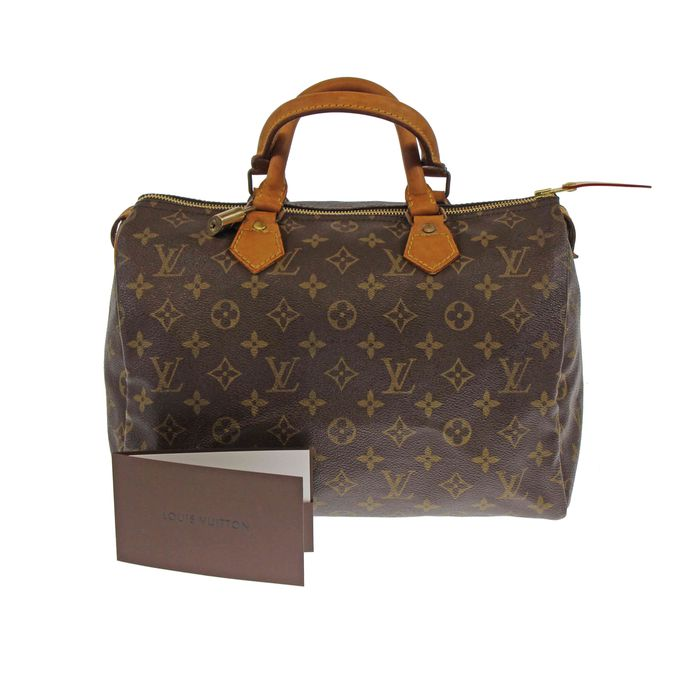 louis vuitton monogram speedy 30 handtasche catawiki. Black Bedroom Furniture Sets. Home Design Ideas