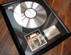 "Michael Jackson ""Dangerous"" Platinum award"