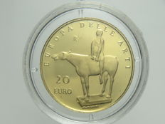 Republic of Italy – 20 Euro 2003 'Europa delle Arti – Italia' ['Europe of Arts – Italy'] – Gold