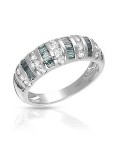 White gold, ladies ring – Diamonds carats: 1.09 Certificate of authenticity.