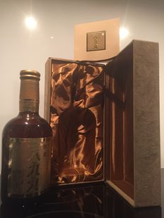 Suntory 1899 60th Anniversary Whisky - With Luxury Suede Box - 760 ML