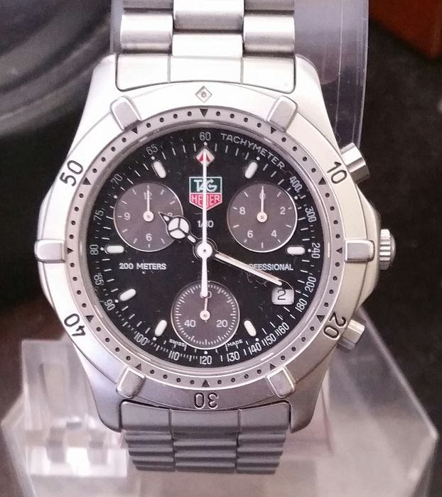 gran venta 0364f d4111 Tag Heuer 200m CE1116 – Men's chronograph timepiece - Catawiki