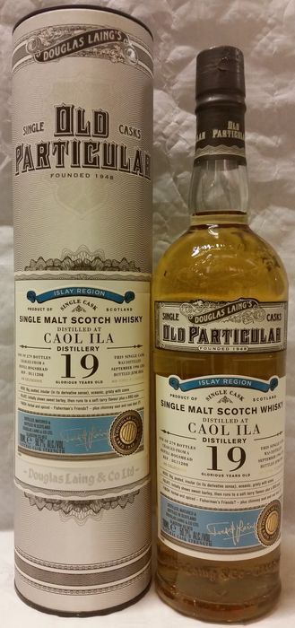 Old Particular - Caol Ila 19 years old - Single Cask bottling of Douglas Laing & Co Ltd - Limited Release of 279 bottles