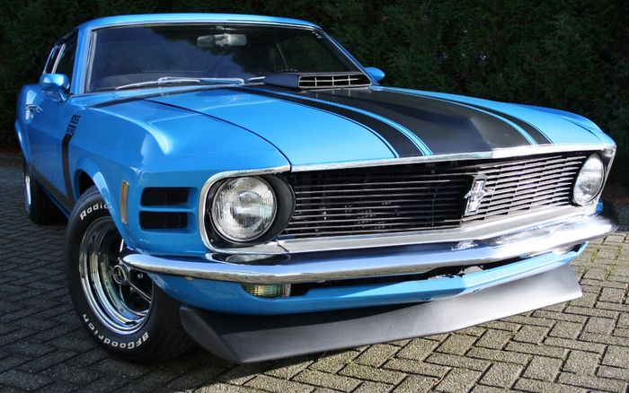 ford mustang fastback sportsroof boss clone 1970 catawiki. Black Bedroom Furniture Sets. Home Design Ideas