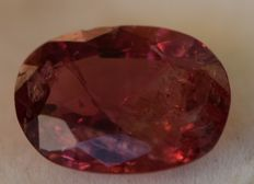 Spinel - Orangy Red - 4.03 ct