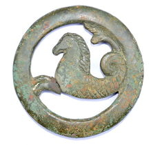 Ancient Roman Legionary Capricorn Mount - 72 mm diam.