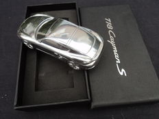 1 original Porsche model made of metal, limited edition, 718 Cayman S