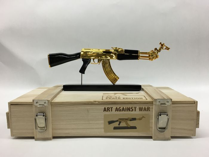 Ray Coster - AK 47 - Art Against War - Peace Edition