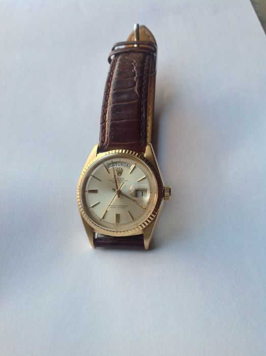 83a93ddaf0b Rolex Oyster Perpetual Day Date – Relógio de pulso masculino - Ano  1965.