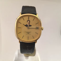 longines automatic Saddam Hussein mens watch