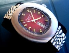 Jungfrau Automatic – Men's wristwatch – From the 1970s – Never worn.