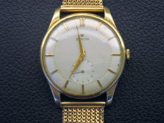 Zenith Stellina watch in 18 kt gold with gold strap, from the 1960s