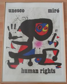 Joan Miro - Unesco Human Rights