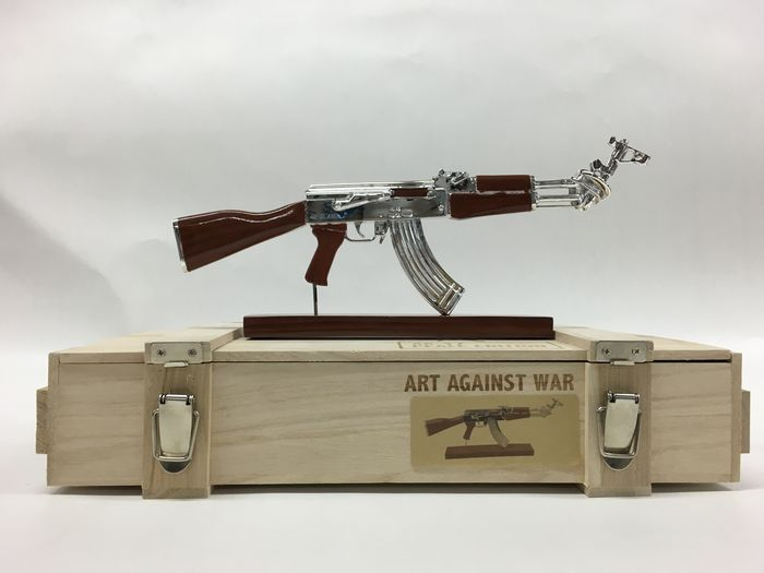 Ray Coster - AK 47 - Art Against War - Peace Editi