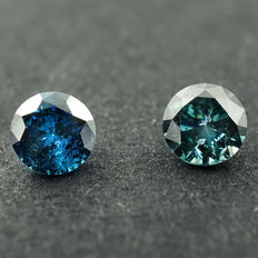 Fancy Blue Diamond - 0.25 ct