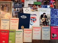 Rare lot of 60's Record Catalogues up to Ace & Frank Zappa releases, from early vinyl to DCC