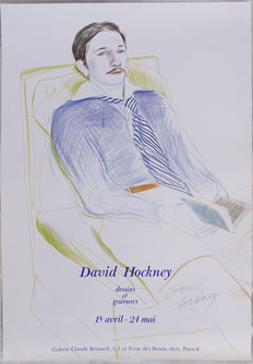 David Hockney - Dessins et Gravures - Galerie Claude Bernard, Paris