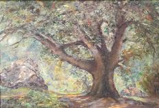 Paul Keufer ( 1881-1961 ) - Le grand arbre