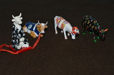 Four Cow Parade set