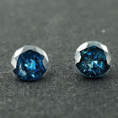 Fancy Blue Diamond - 0.24 ct