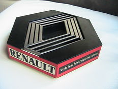 Renault - Rare and large ashtray 18 X 18 cm - 70/80s