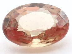 Padparadscha sapphire  - 0.21 ct . - No reserve