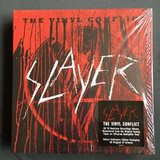 "Slayer- ""The Vinyl Conflict"":  11 LP Box Set -MOVLP200"