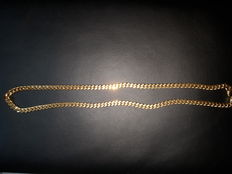 Necklace, 18 kt gold.