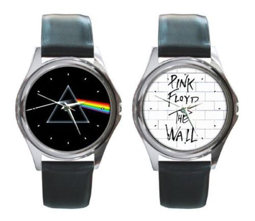 "Two Pink Floyd Watches : ""Dark Side Of The Moon"" - ""The Wall"""