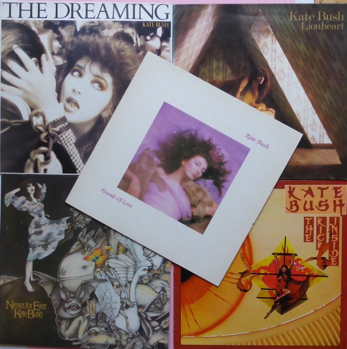 Five first albums by Kate Bush