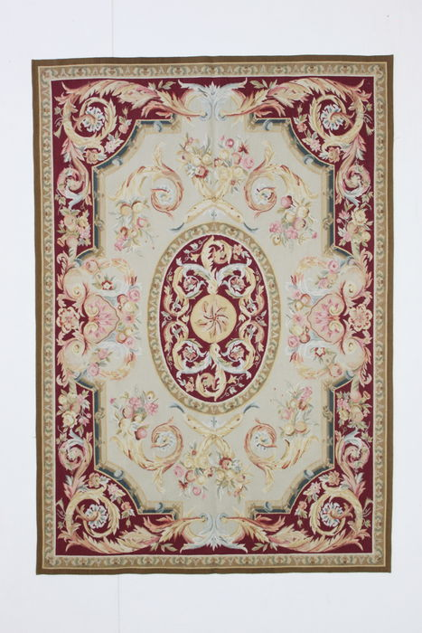 Rare AUBUSSON carpet, China, 1980