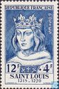 Postage Stamps - France [FRA] - King Louis IX