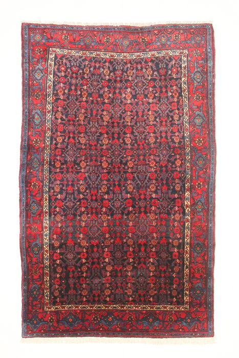 Semi-antique Persian KURDI rug, Iran (west), 1940-50.