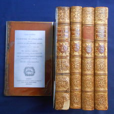 Horace Walpole - Anecdotes of Painting in England - 5 Volumes, complete - 1826-1828