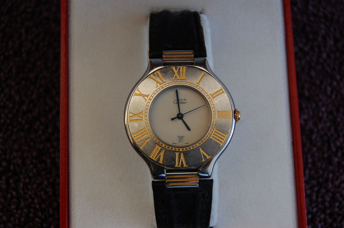 0dd309487575 Reloj The Cartier must 21 para caballero o mujer, 1995 - Catawiki